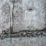 Acrylfarbe, 80 x 100 cm