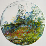 Pouring auf Vinyl