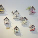 tamar mogendorff、鳥のお家壁掛け。小£58、中£112。