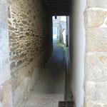 """les petites ruelles des """"rues de derrières"""" du port"""