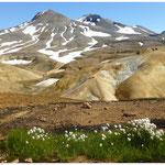 im Geothermalgebiet des Kerlingarfjöll