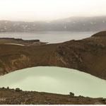 Vití & Öskjuvatn in der Askja