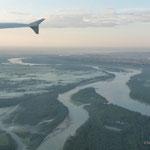 Anflug auf Barnaul