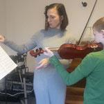 Violinunterricht mit Justyna Mrozek