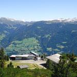 Die Bergstation Hochzillertal im Sommer