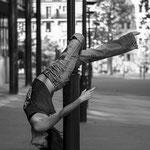 Dance un the street
