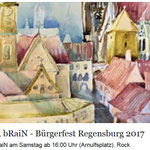DOC heR bRaiN    Bürgerfest Regensburg Kneitinger Bühne