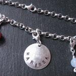 "Art.Nr.: C-1027 Armband ""Marissa"" (Name nach Wunsch)"