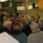 Besuch der Firma Feidt aus dessen Abbau der in Zechin in 2013 eingeweihte Freundschaftsstein stammt