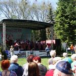 Konzert im Stadtpark Wiosny Ludow