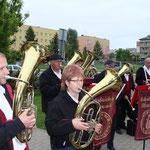 Jedes Orchester spielte in einem anderen Stadtteil