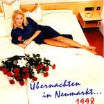 Das Titelbild des Übernachtungsinfos 1998 brachte deutschlandweite Resonanz in den Printmedien