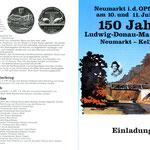 Einladung zum Jubiläum 150 Jahre Ludwig-Donau-Main-Kanal