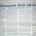 Neumarkter Tagblatt v. 11.09.1950