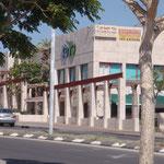 Centre d'achats et restaurants
