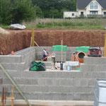 Aufbauhilfe Massivhaus