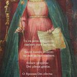 6° giorno: Le più antiche invocazioni alla Madonna nel Carmelo (Firenze XVI sec.).