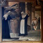 Firenze, Borgo Pinti, Giovanni paolo Roffi, S. Maddalena moltiplica l'olio delle lampade (sec. XVII)