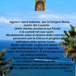 9° giorno: Le invocazioni alla Madonna nel Carmelo (XX sec.)