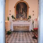 San Frediano cella della Santa, oggi cappella nel Seminario
