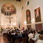 Careggi - Carmelo S. Maria degli Angeli e S. M. Maddalena de' Pazzi - Navata della chiesa