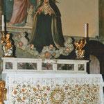 Firenze, F. Curradi, S. Maddalena de' Pazzi in gloria (1626 - per la Beatificazione)