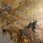 Firenze, Borgo Pinti, Jacopo Chiavistelli, S. Maddalena nella gloria (sec. XVII)