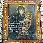 7° giorno: Madre di Dio della cella di S. Maddalena de' Pazzi (XVI sec.).