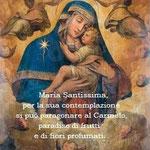 """3° giorno: Madre di Dio del tipo """"Bruna"""" (Campania - XVIII sec.)."""