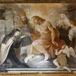 Firenze, Borgo Pinti, Francesco Boschi, Sposalizio mistico (sec. XVII)