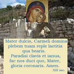 8° giorno: Le più antiche invocazioni alla Madonna nel Carmelo (XIII sec.)