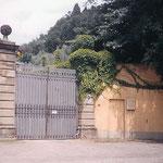 Firenze - Sede  attuale del Carmelo S. Maddalena de' Pazzi - Entrata