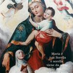 """5° giorno: Madre di Dio del tipo """"Bruna"""" (Campania - XVIII sec.)."""