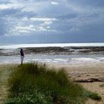 La plage de Portbail