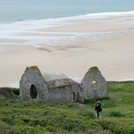 Ruines de l'eglise Saint Martin Carteret
