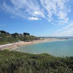 La plage de la Potinière Carteret