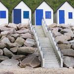 Les cabines de plage Carteret