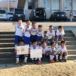 【2019年9月】ケンセイFC創立40周年記念サッカー大会(U-8) 優勝!!