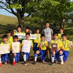 【2019年5月】第26回魚津ミラージュカップ(U-12) 3位