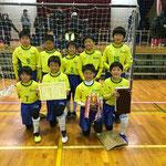 【2019年12月】中田JFCフットサル大会(U-12) 優勝!!