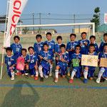 【2019年8月】第4回アルビス杯争奪U-11フェスティバル(U-11) 準優勝