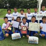【2017年8月】第23回八尾町アレキサンドリアカップ(U-9) 優勝