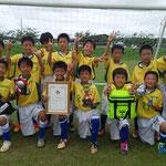 【2016年7月】Takaseiカップ2016(U-11) 優勝