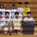 【2017年2月】第11回湯けむりカップ(トレセンU-12) 準優勝