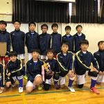 【2016年12月】中田JFCフットサル交流会(U-12) 優勝