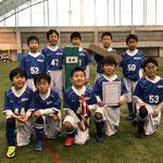 【2018年1月】ジュニアフットサルフェスティバル2018(U-9) 優勝