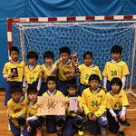 【2017年12月】氷見フットサル2018(U-10)  優勝