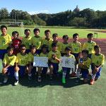 【2019年9月】ケンセイFC創立40周年記念サッカー大会(U-12) 順位決定戦 優勝!!