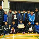 【2017年12月】中田JFCフットサル交流会2017(U-12)  優勝