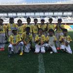 【2018年8月】第12回ピーチカップ(U-10) 優勝